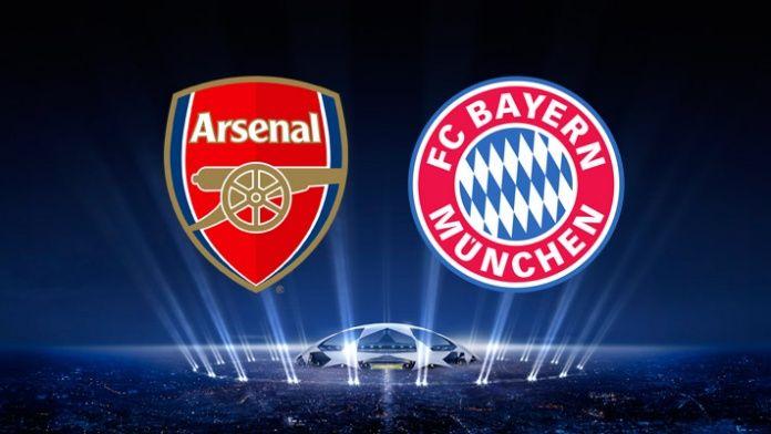 обоснована прогноза Арсенал - Байерн Мюнхен