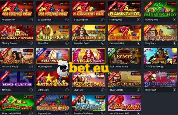 top 20 casino igri